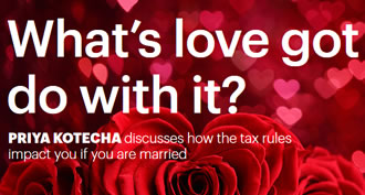 How tax rules impact you if you get married